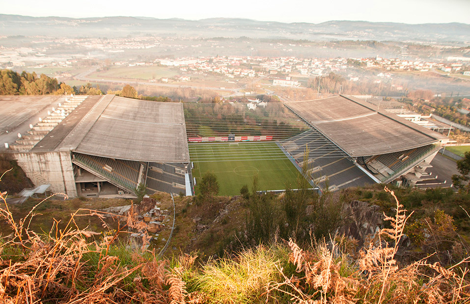 estadio braga build highlight